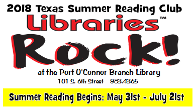 Summer Reading Program starts soon in Port O'Connor!